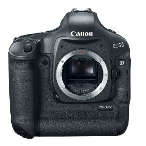 Canon EOS-1D Mark IV 16.1MP DSLR Camera (Body Only)