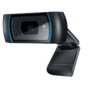Logitech HD Pro C910 Web Camera with 1080p Resolution (# 960-000597)