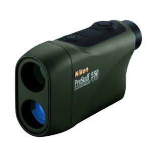 Nikon ProStaff 550 Waterproof Laser Rangefinder (Green, 8369)