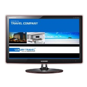 Samsung P2770H 27 LCD Monitor with Rose Black Touch of Color