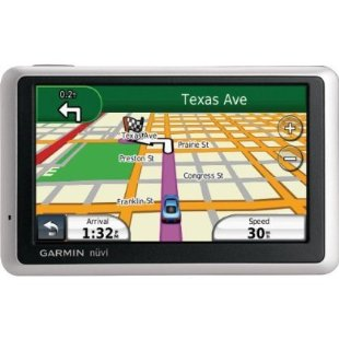 Garmin nuvi 1350LMT GPS with Lifetime Traffic and Maps