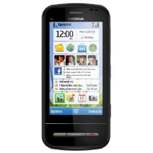 Nokia C6 Unlocked GSM Phone (Black)