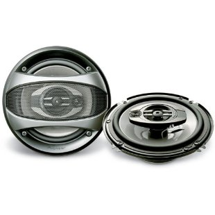 Pioneer TS-A1673R 6.5-Inch, 220-Watt 3-Way Speakers