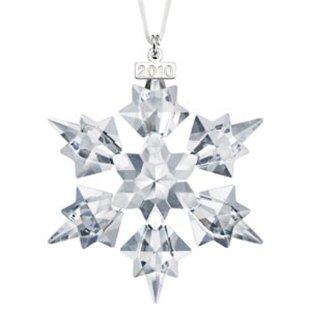 Swarovski 2010 Annual Crystal Christmas Ornament (Large 3.2 Snowflake # 1041301)