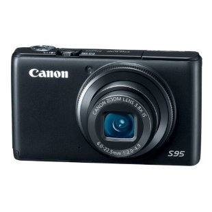 Canon PowerShot S95 10MP Digital Camera with 3.8x Wide-Angle IS Zoom