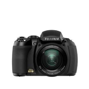 Fujifilm FinePix HS10 10MP CMOS Digital Camera with 30x Wide Angle Zoom