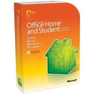 Microsoft Office 2010 Home & Student (Physical Disc Version)