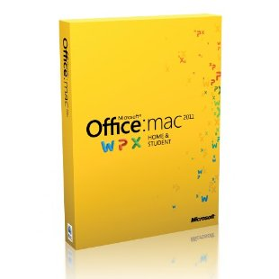 Microsoft Office Mac 2011 Home & Student (Single License) [Mac OS X]