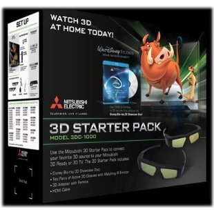 Mitsubishi 3D Starter Pack (3DC-1000)