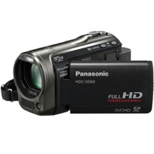 Panasonic HDC-SD60 Full HD Camcorder with 35X Intelligent Zoom (HDC-SD60K)