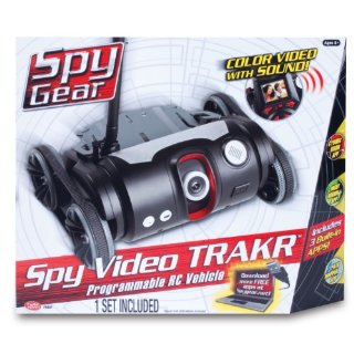 Spy Gear Spy Video TRAKR Programmable RC Vehicle
