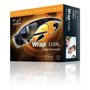 Vuzix Wrap 310XL Video Eyewear Glasses