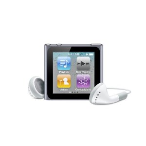 Apple iPod nano 16GB (MC694LL/A, 6th Generation)