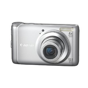 Canon PowerShot A3100IS 12.1MP Digital Camera with 4x IS Zoom