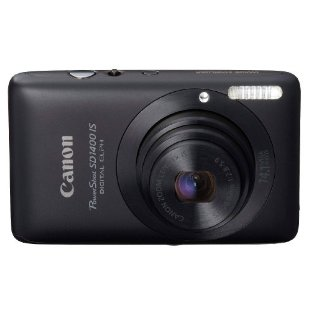 Canon PowerShot SD1400 IS Digital Elph 14.1MP Digital Camera with 4x Wide Angle IS Zoom (Black)