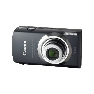 Canon PowerShot SD3500 IS Digital Elph w/ Touchscreen LCD and 5x IS Zoom (Black)
