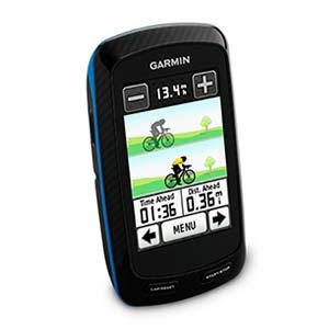 Garmin Edge 800 Touchscreen GPS Bike Computer Bundle with HR Strap, Speed/Cadence Sensor, City Navigator NT Maps (010-00899-30)
