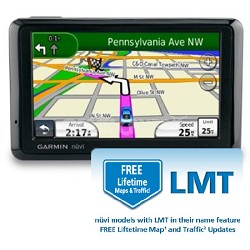 Garmin nuvi 1390LMT Lifetime Map and Traffic 4.3 GPS