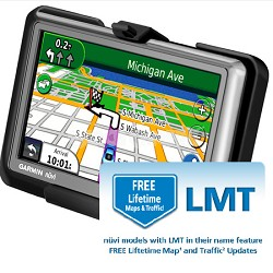 Garmin nuvi 1450LMT 5 GPS with Lifetime Maps & Traffic
