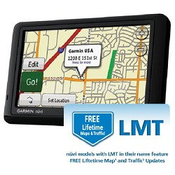 Garmin nuvi 1490LMT Lifetime Maps and Traffic 5 GPS