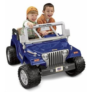 Power Wheels Jeep Wrangler Rubicon 12v Ride-On