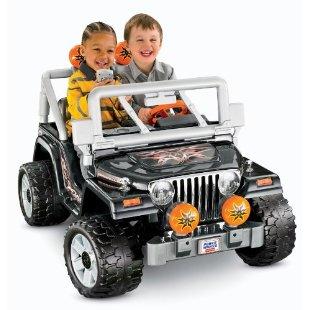 Power Wheels Tough Talkin Jeep Wrangler