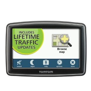 TomTom XL 350T 4.3 Lifetime Traffic Edition GPS