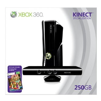 Xbox 360 250GB Special Edition Bundle with Kinect