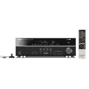 Yamaha RX-V667 7.2-Channel 3D Home Theater Receiver