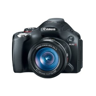 Canon PowerShot SX30 IS 14.1MP Camera with 35x Wide Angle OIS Zoom, USM, VCM Lens