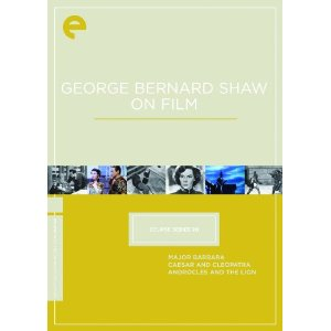 George Bernard Shaw On Film (Major Barbara / Caesar and Cleopatra / Androcles and the Lion) (The Criterion Collection Eclipse Series 20)
