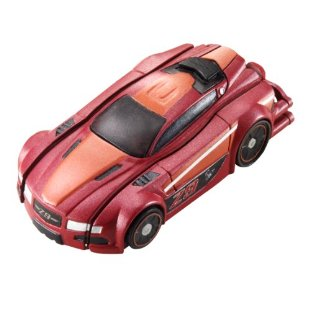 Hot Wheels RC Stealth Rides Race Car (Z9 Red)