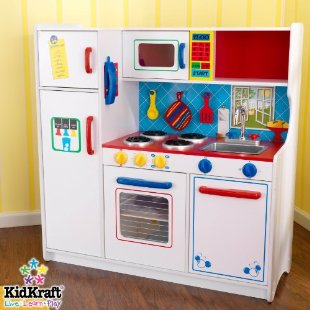 Kidkraft Deluxe Let's Cook Pretend Kitchen
