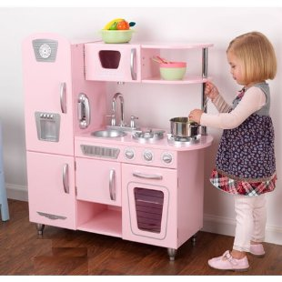 Kidkraft Vintage Retro Kitchen Playset (Pink)