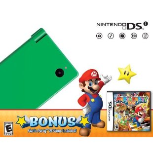 Nintendo DSi Bundle with Mario Party DS (Green)