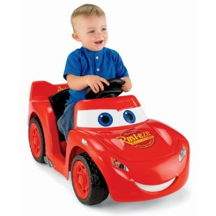 Power Wheels Lil' Lightning McQueen Ride-on (Disney Cars)