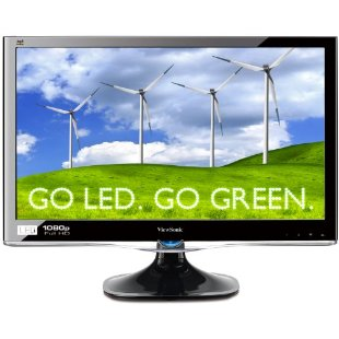 ViewSonic VX2450WM-LED 24 Full HD 1080p LED Monitor