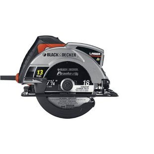 Black & Decker CS1030L 7.25 Laser Circular Saw