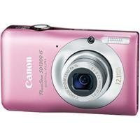 Canon PowerShot SD1300IS 12MP Digital Camera with IS Zoom (Pink)