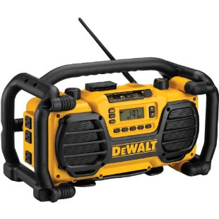 DEWALT DC012  Heavy-Duty Worksite Radio and Battery Charger