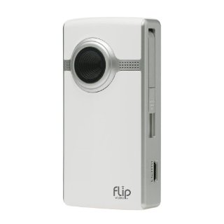 Flip UltraHD Camcorder (4GB, 1hr, 3rd Gen) (White)
