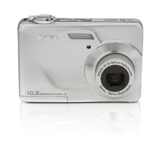 Kodak Easyshare C180 10.2MP HD Digital Camera with 3x Zoom (Silver)