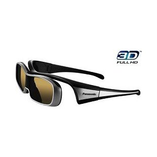 Panasonic TY-EW3D10U 3D Active Shutter Glasses for Panasonic 3D HTDVs