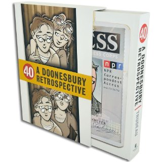 40: A Doonesbury Retrospective [Hardcover]