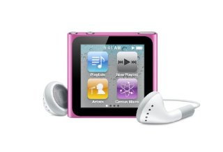 Apple iPod nano 8GB Pink (6th Generation)