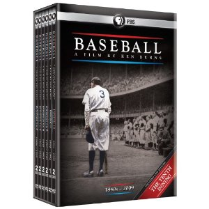 Baseball: A Film by Ken Burns DVD Set (Includes The Tenth Inning)