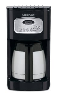 Cuisinart DCC-1150 10-Cup Programmable Thermal Coffee Maker (Black, DCC-1150BK)