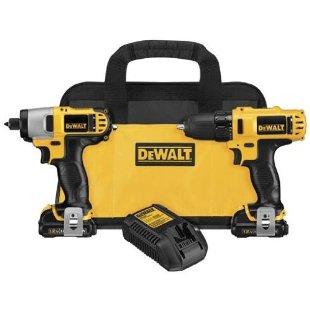 DeWalt DCK211S2 12v Max Drill/Driver / Impact Driver Combo Kit