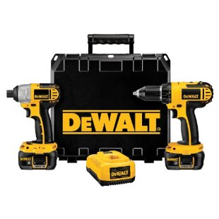 DeWalt DCK265L 18v Compact Lithium-Ion Drill and Impact Combo Kit