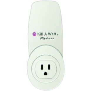Kill-A-Watt Wireless Monitor with Carbon Footprint Meter (P4200)